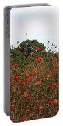 Cosmos In Tokyo Garden Portable Battery Charger