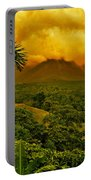 Costa Rica Volcano Portable Battery Charger