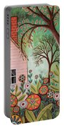 Cottage Garden 1 Portable Battery Charger