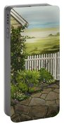 Cottage Garden Beach Getaway Portable Battery Charger