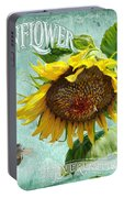 Cottage Garden - Sunflower Standing Tall Portable Battery Charger