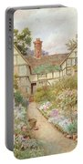 Cottage Garden Portable Battery Charger