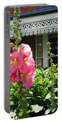 Cottage Garden.  Portable Battery Charger