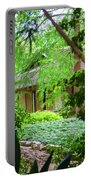 Cottage Hidden Rip Van Winkle Gardens Louisiana  Portable Battery Charger
