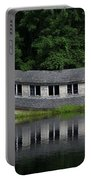 Cottage Sinking In The Rideau Canal Portable Battery Charger