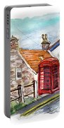 Cottages In Runswick Bay Portable Battery Charger
