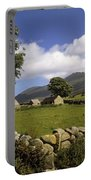 Cottages On A Farm Near The Mourne Portable Battery Charger