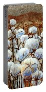 Cotton Fields Portable Battery Charger