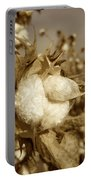 Cotton Sepia Portable Battery Charger