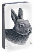 Eastern Cottontail Rabbit Portable Battery Charger
