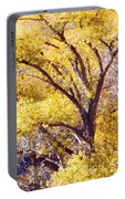 Cottonwood Golden Leaves Portable Battery Charger