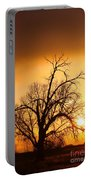 Cottonwood Sunrise - Vertical Print Portable Battery Charger