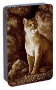 Cougar Wait Until Dark  Portable Battery Charger