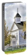Country Church At Old World Wisconsin Portable Battery Charger