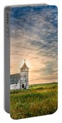 Country Church Sunrise Portable Battery Charger