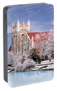 Country Club Christian Church Portable Battery Charger by Steve Karol