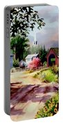 Country Covered Bridge 3 Portable Battery Charger