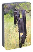 Country Fence Portable Battery Charger