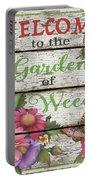 Country Garden Sign-e Portable Battery Charger