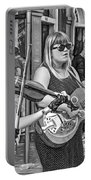 Country In The French Quarter 3 Bw Portable Battery Charger