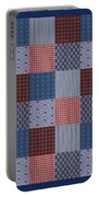 Country Quilt Portable Battery Charger
