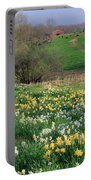 Country Spring Portable Battery Charger by Bill Wakeley