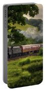 Country Train Ride Portable Battery Charger