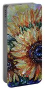 Countryside Sunflowers Portable Battery Charger