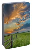 Countryside Sunset Portable Battery Charger