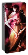 Couple Tango Art Portable Battery Charger