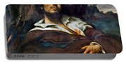 Courbet: Self-portrait Portable Battery Charger