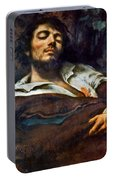 Courbet: Self-portrait Portable Battery Charger