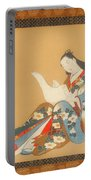 Courtesan Writing A Letter Portable Battery Charger