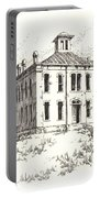 Courthouse Belmont Ghost Town Nevada Portable Battery Charger