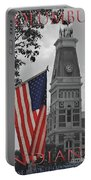 Courthouse In America Portable Battery Charger