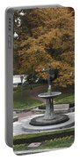 Courthouse Square In Rockville Maryland Portable Battery Charger