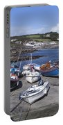 Coverack Harbour Cornwall Portable Battery Charger