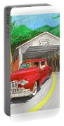Covered Bridge Lincoln Portable Battery Charger