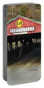 Covered Bridge Vermont Portable Battery Charger