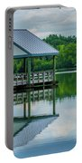 Covered Dock Portable Battery Charger