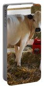 Cow And Little Calf Portable Battery Charger