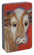Cow Face Portable Battery Charger