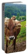 Cow Gazing  Portable Battery Charger