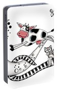 Cow Jumps Over The Moon Portable Battery Charger