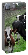 Cow Line Up Portable Battery Charger