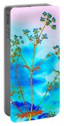 Cow Parsley Blossom 2 Portable Battery Charger