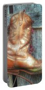 Cowboy Boot Rack Portable Battery Charger
