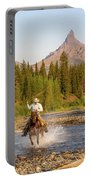 Cowboy Country Portable Battery Charger