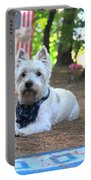 Cowboy Westie  Portable Battery Charger