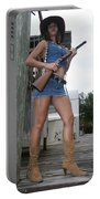 Cowgirl 021 Portable Battery Charger